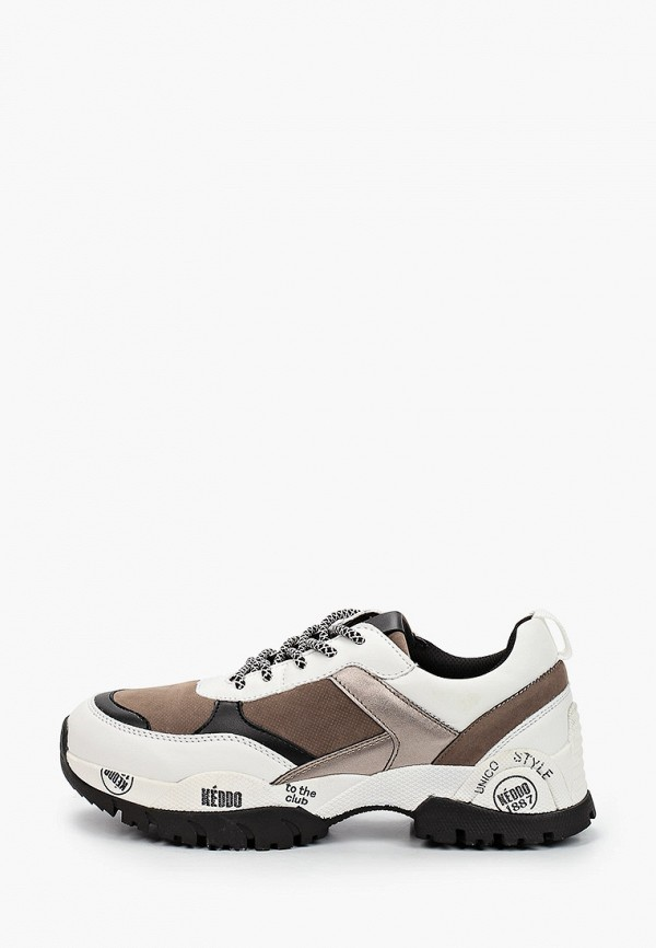 женские кроссовки keddo, бежевые