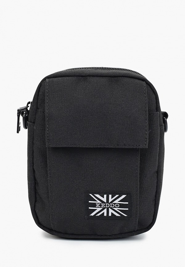 мужская сумка keddo, черная