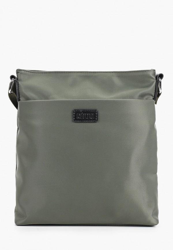 мужская сумка keddo, хаки