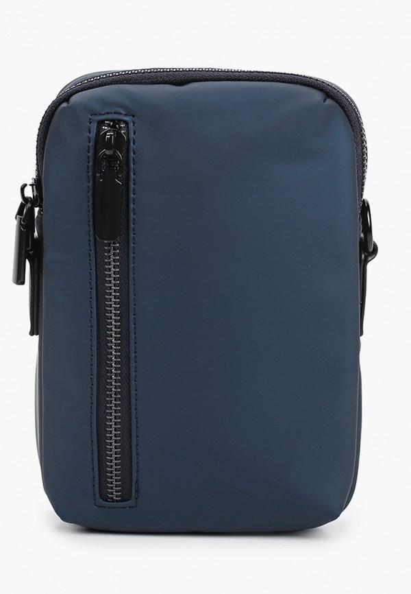 мужская сумка keddo, синяя