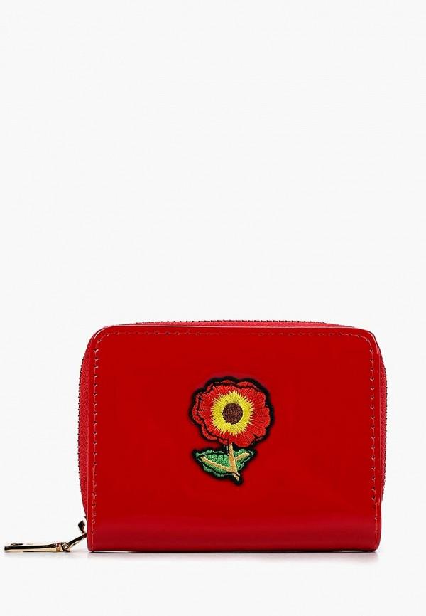 женский кошелёк keddo, красный