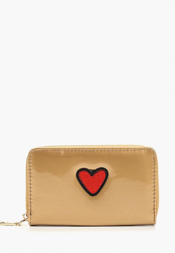 женский кошелёк keddo, золотой
