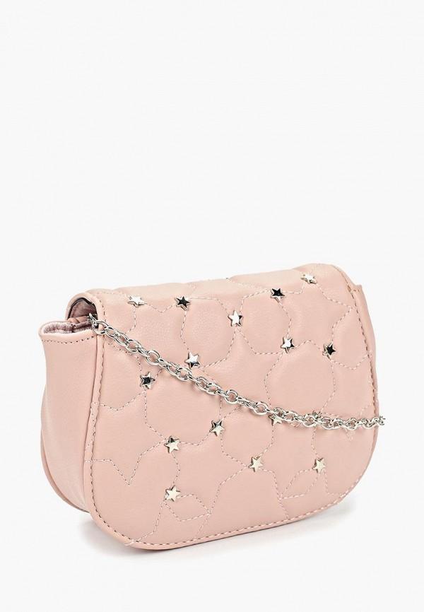 Фото 2 - женскую сумку Keddo розового цвета
