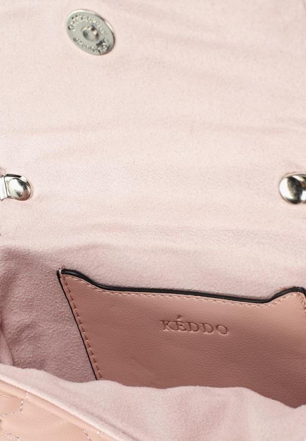 Фото 3 - женскую сумку Keddo розового цвета