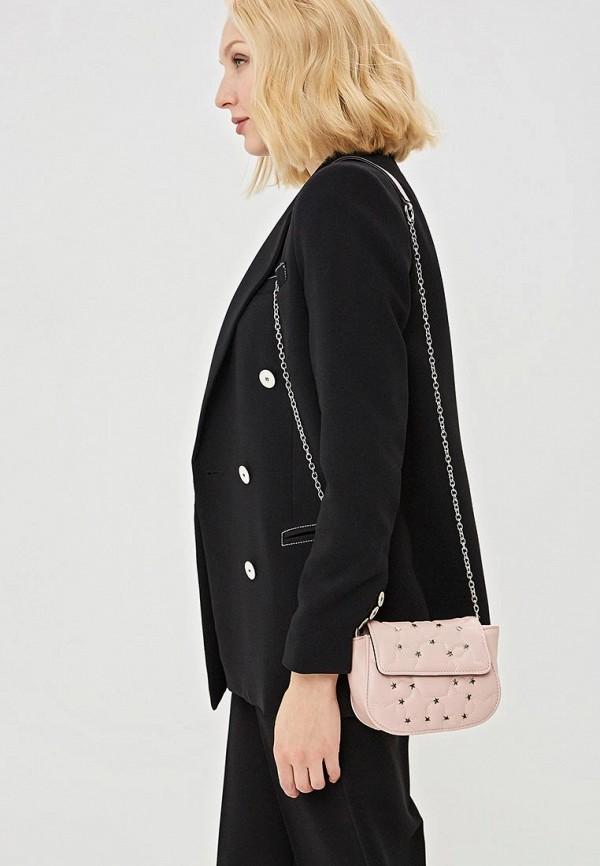 Фото 4 - женскую сумку Keddo розового цвета
