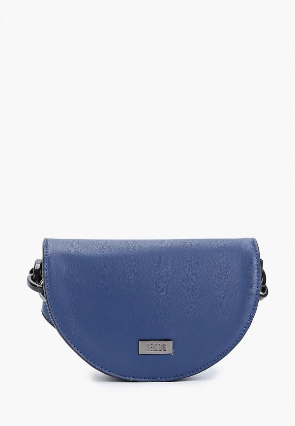 женская сумка keddo, синяя