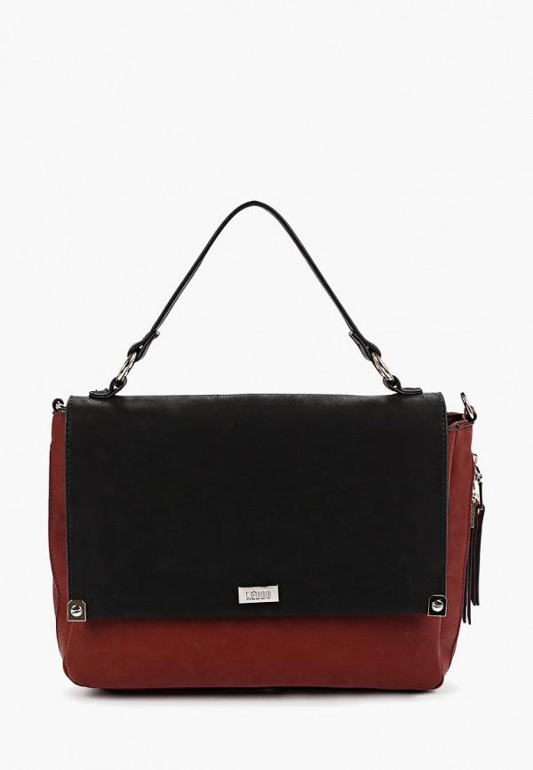 женская сумка keddo, оранжевая