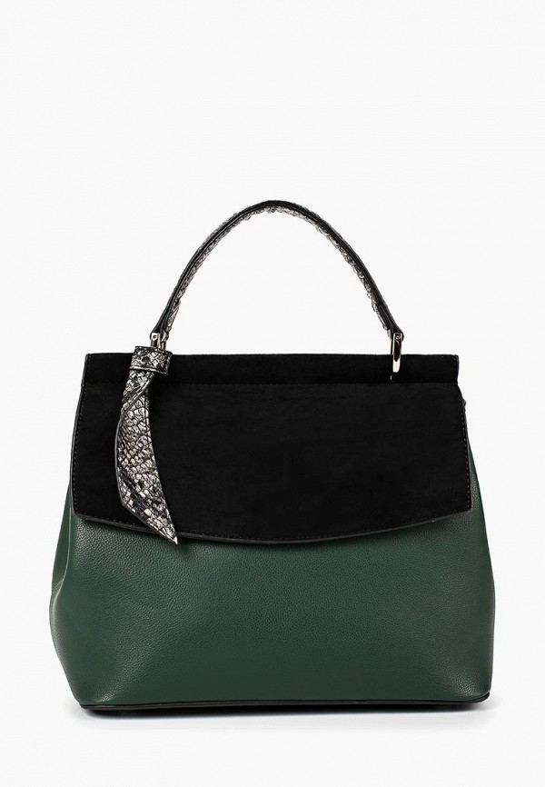 женская сумка keddo, зеленая
