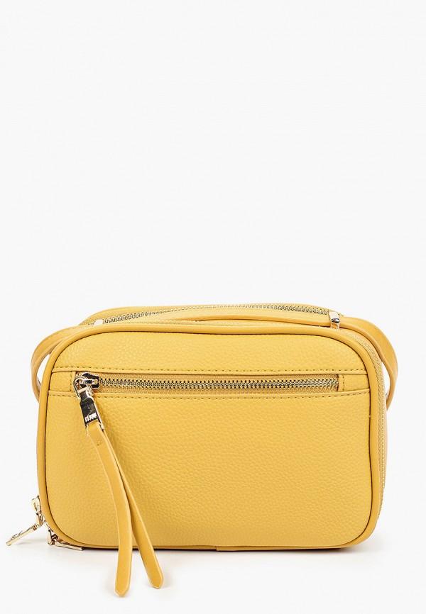 женская сумка keddo, желтая
