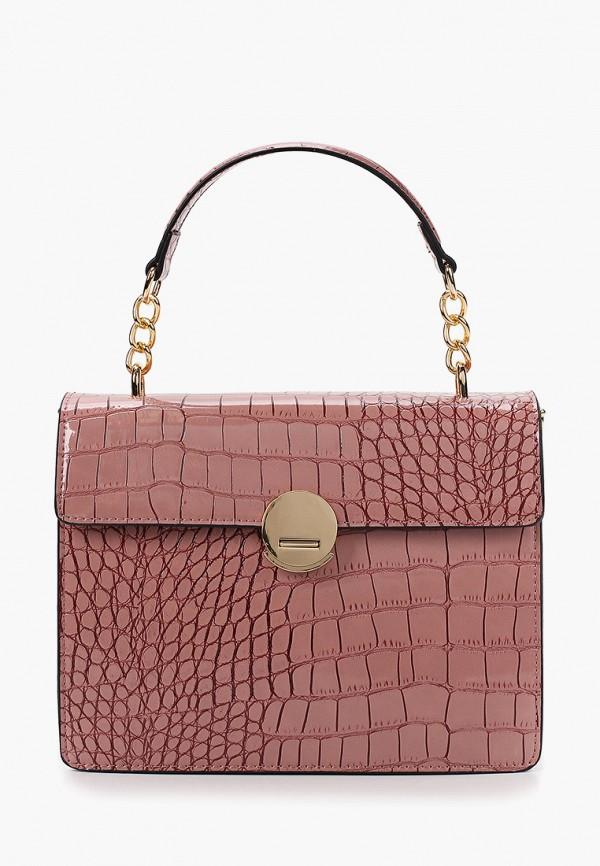 женская сумка keddo, розовая