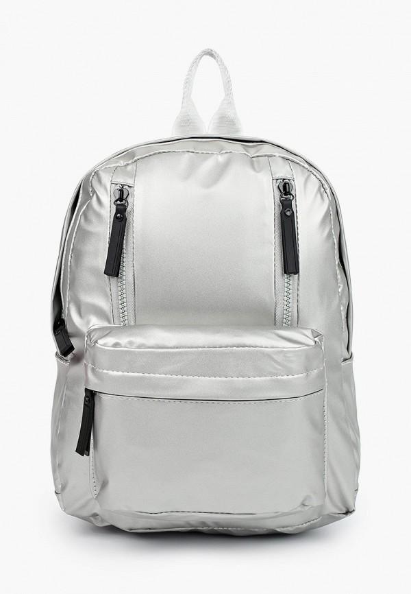 женский рюкзак keddo, серебряный
