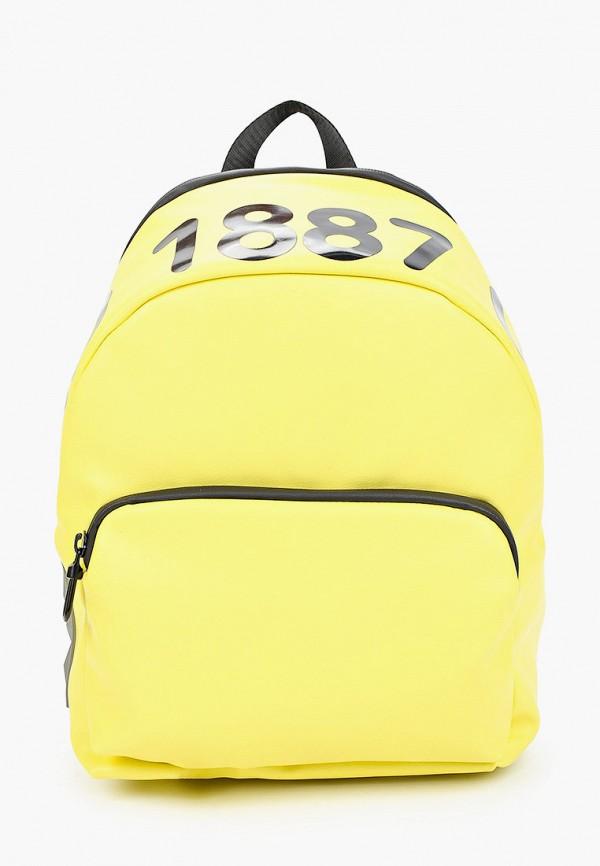 женский рюкзак keddo, желтый