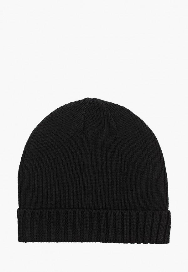 мужская шапка keddo, черная