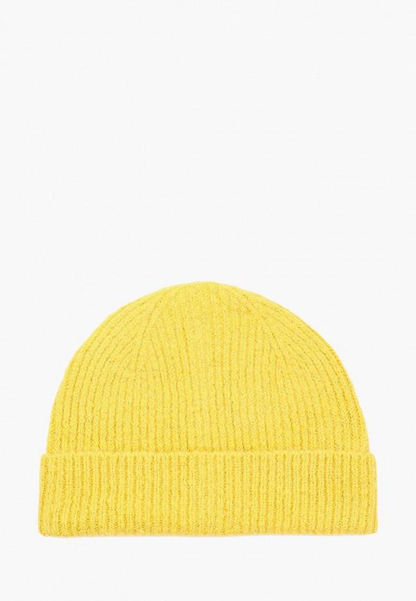 женская шапка keddo, желтая