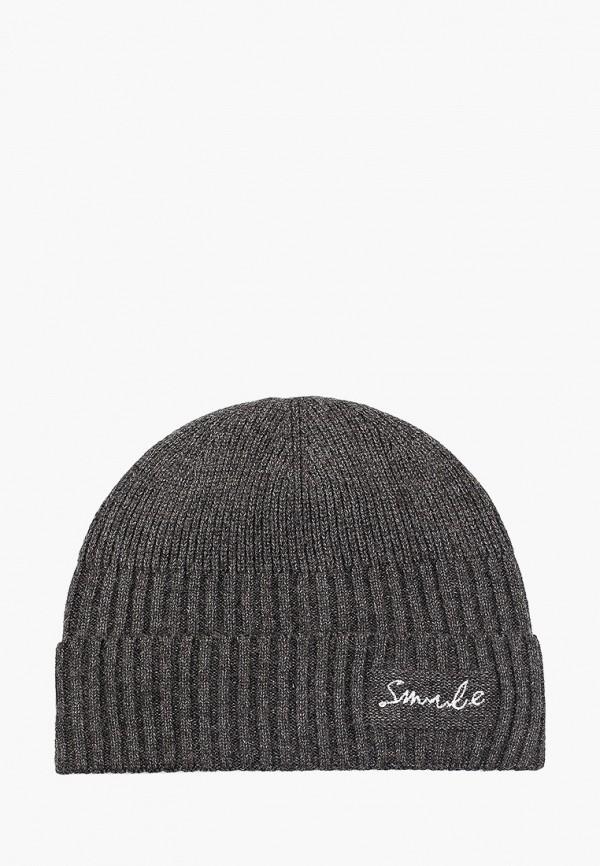 женская шапка keddo, серая