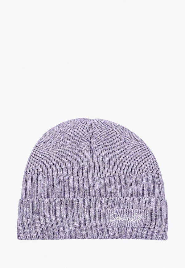 женская шапка keddo, фиолетовая