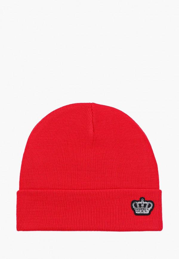 женская шапка keddo, красная