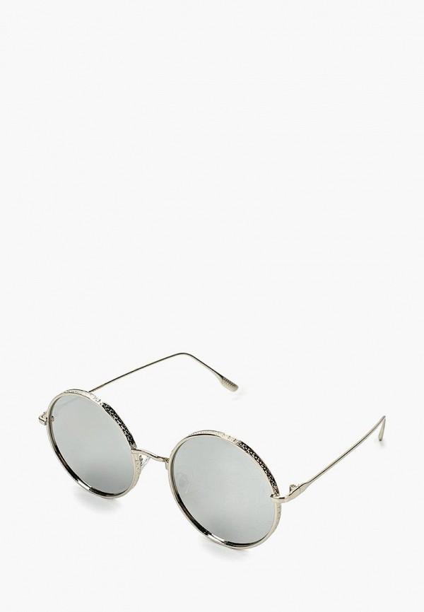 женские солнцезащитные очки keddo, серебряные
