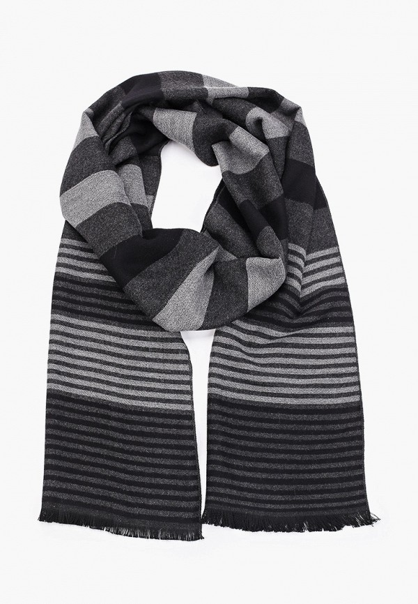 мужской шарф keddo, серый