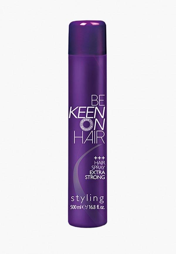 Купить Спрей для укладки KEEN, для экстрасильной фиксации волос, 500 мл, KE132LWAYZQ7, прозрачный, Осень-зима 2018/2019