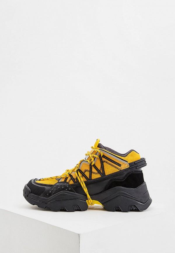мужские кроссовки kenzo, оранжевые