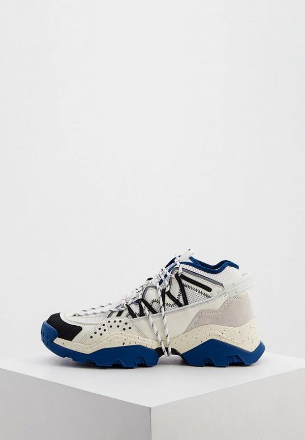 мужские кроссовки kenzo, белые