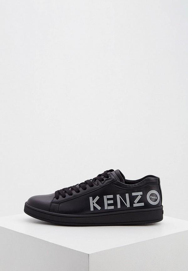 мужские кеды kenzo, черные