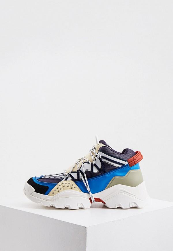 мужские кроссовки kenzo, синие