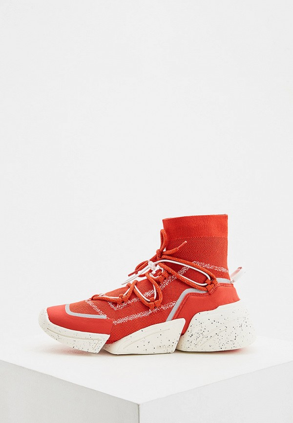 женские кроссовки kenzo, красные