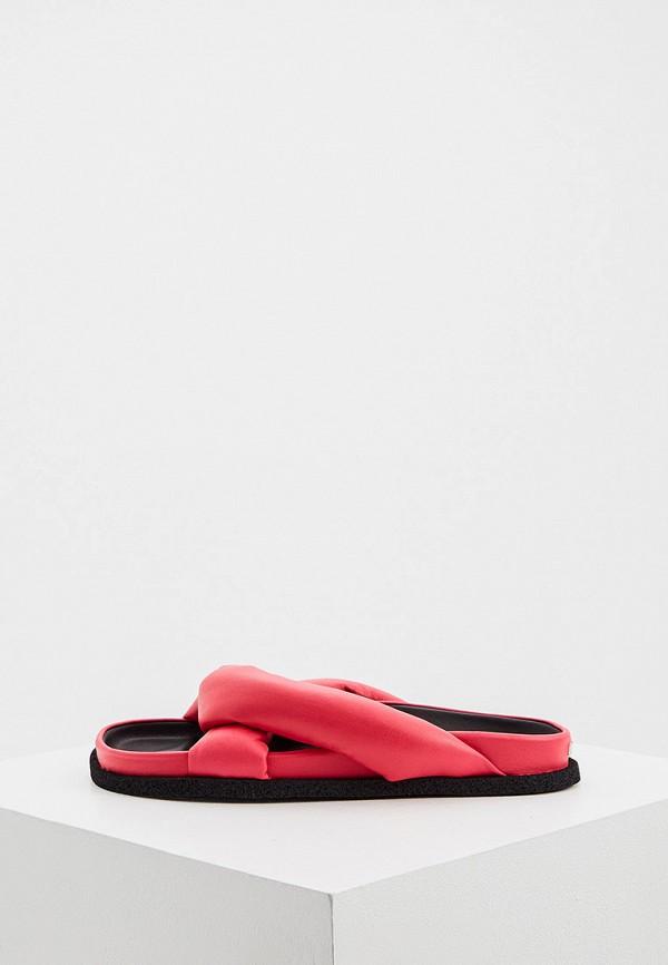 женское сабо kenzo, розовое
