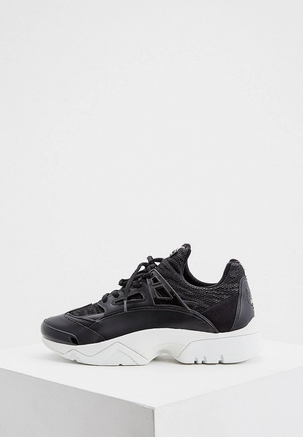женские кроссовки kenzo, черные