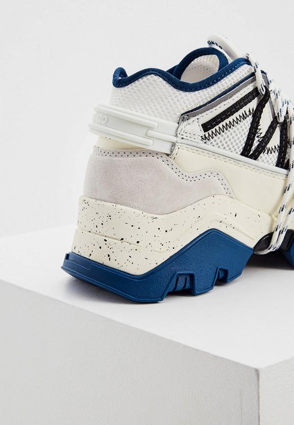 Фото 2 - Женские кроссовки Kenzo белого цвета