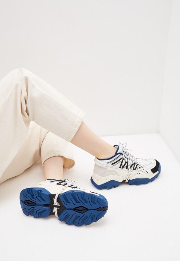 Фото 7 - Женские кроссовки Kenzo белого цвета