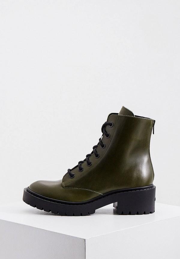 женские ботинки kenzo, хаки