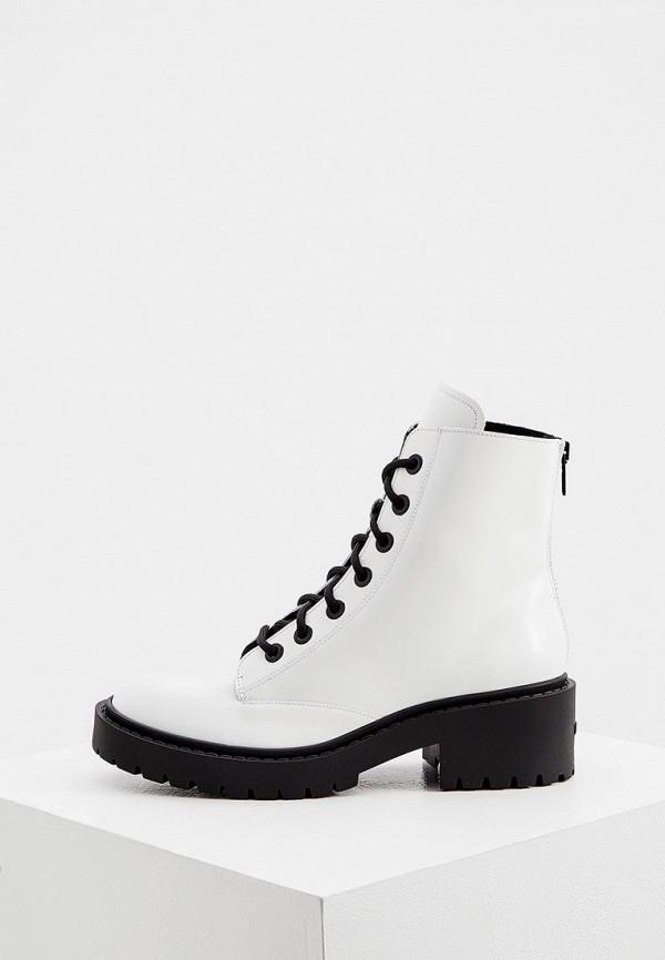 женские ботинки kenzo, белые