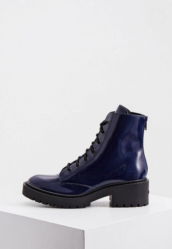 женские ботинки kenzo, синие