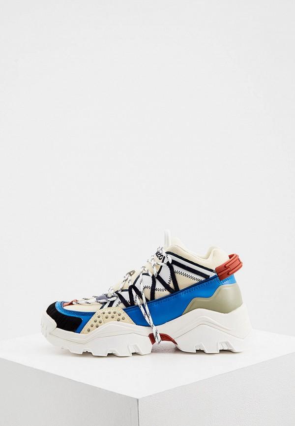 женские кроссовки kenzo, разноцветные