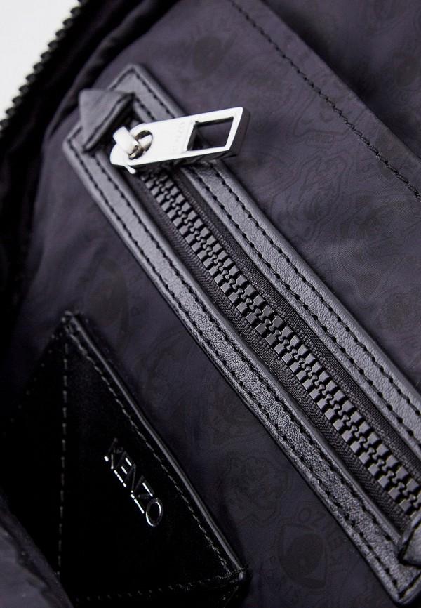 Фото 5 - мужской рюкзак Kenzo синего цвета