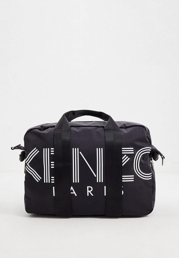 мужская дорожные сумка kenzo, черная