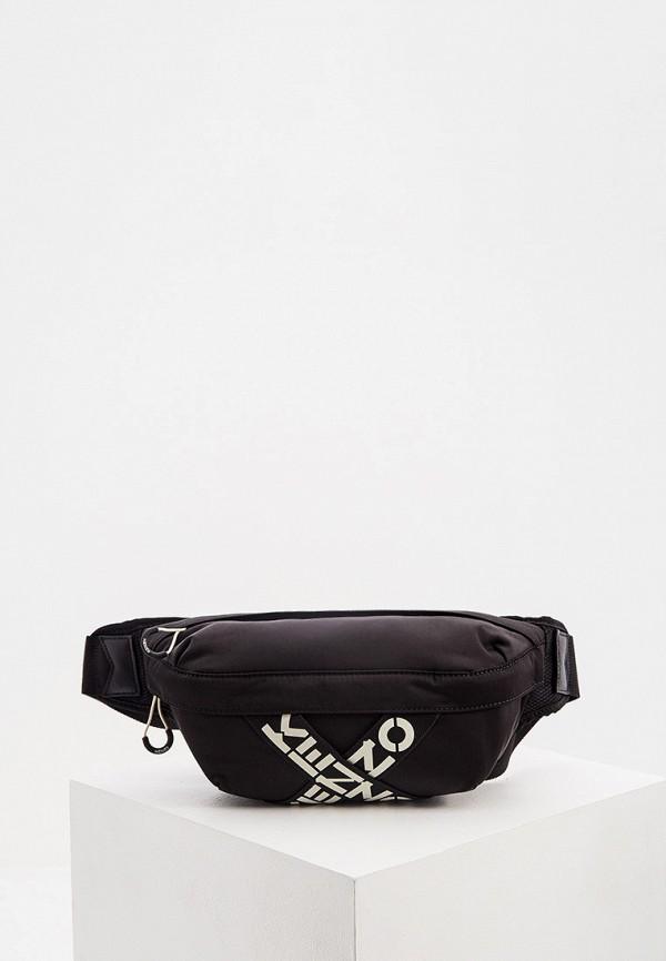мужская сумка kenzo, черная