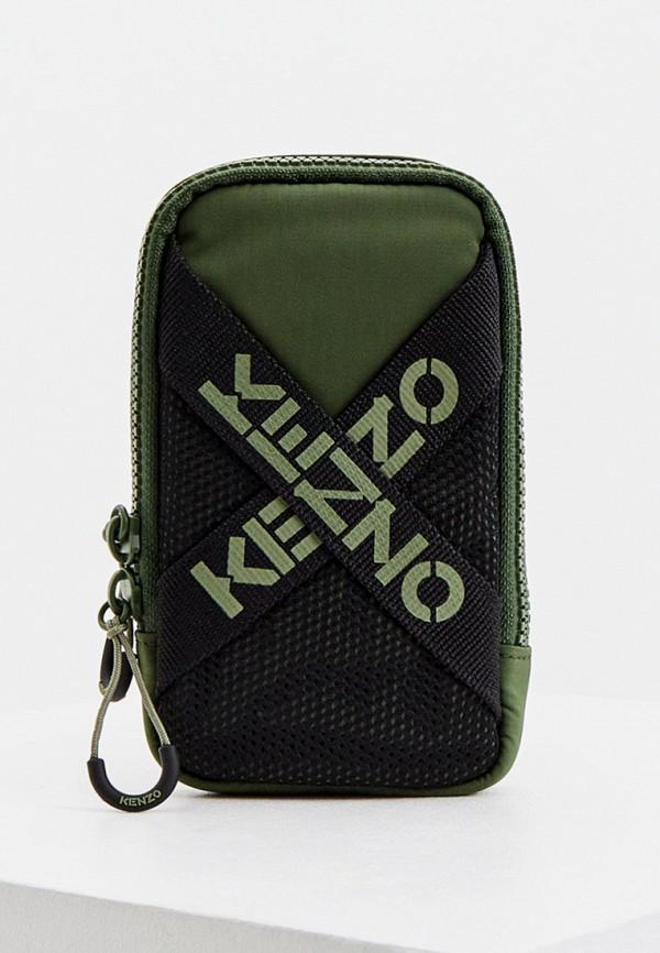 мужская сумка kenzo, зеленая