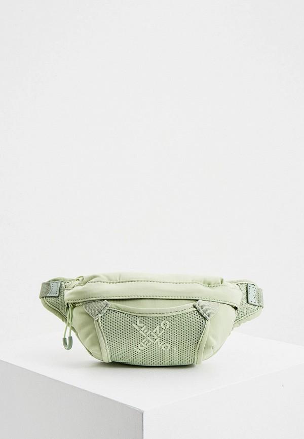 женская сумка kenzo, зеленая