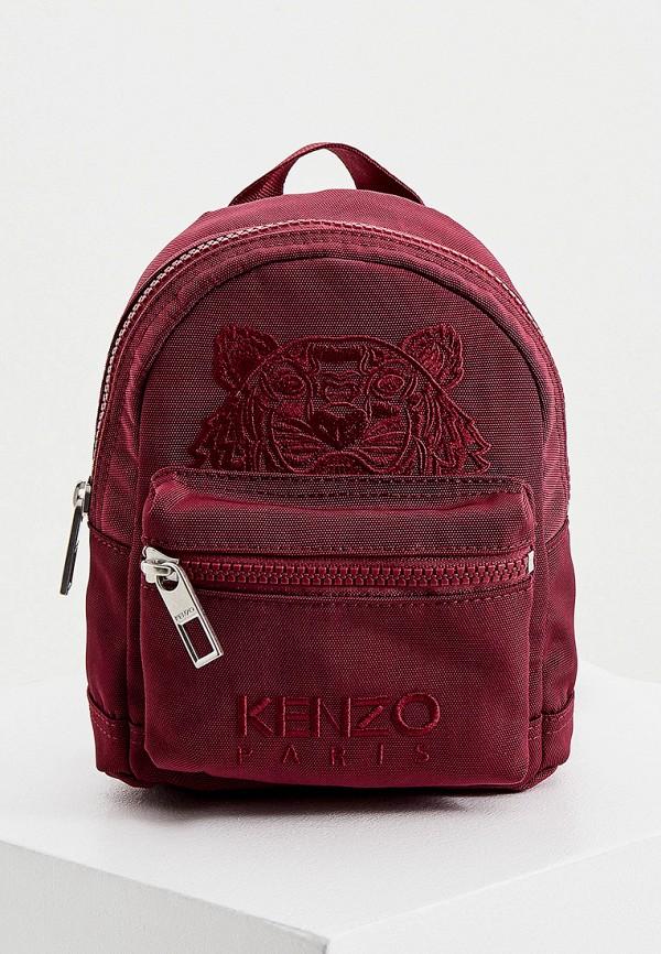 женский рюкзак kenzo, бордовый