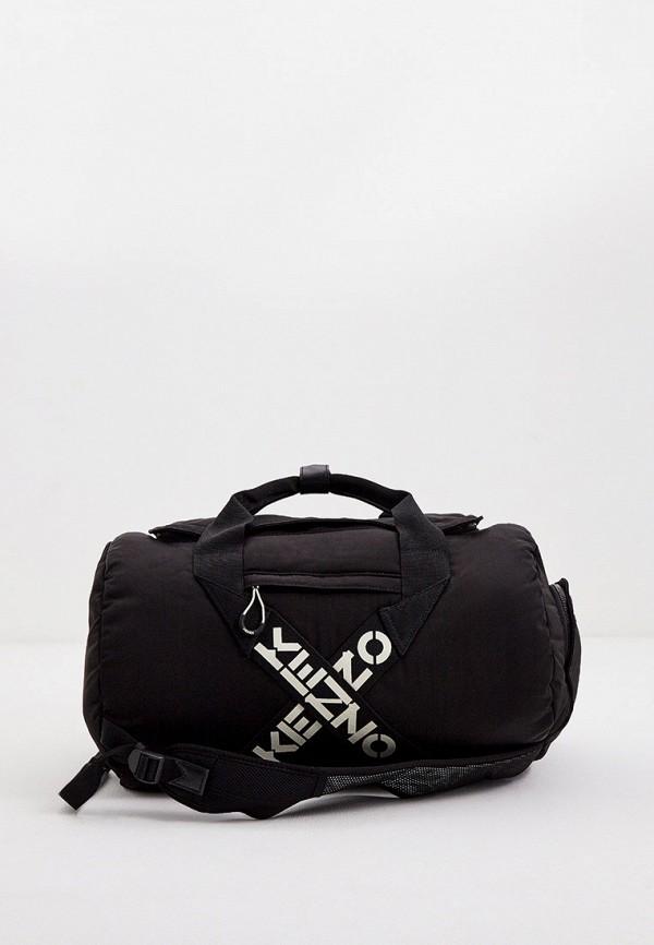 женская дорожные сумка kenzo, черная