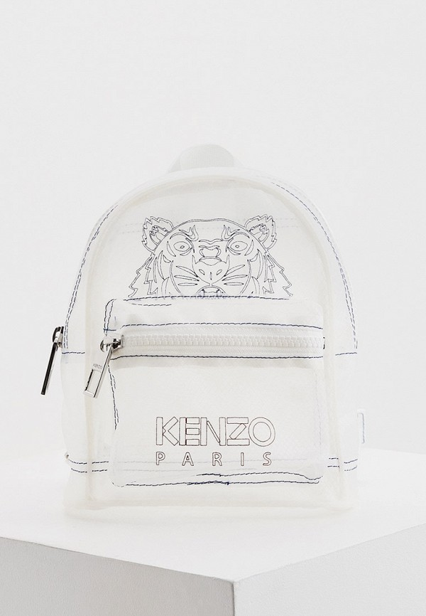 женский рюкзак kenzo, белый