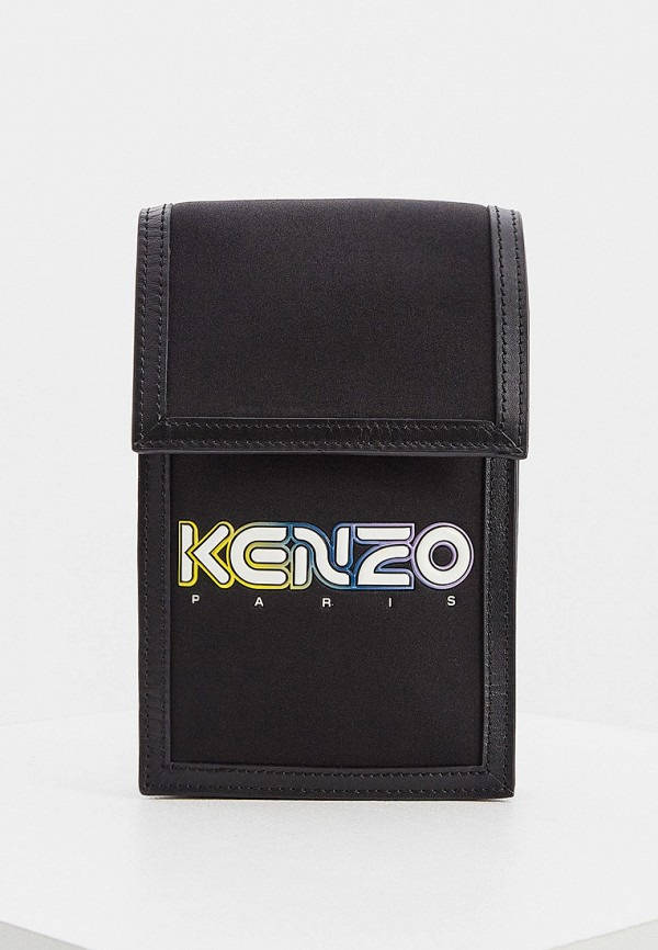 женская сумка через плечо kenzo, черная