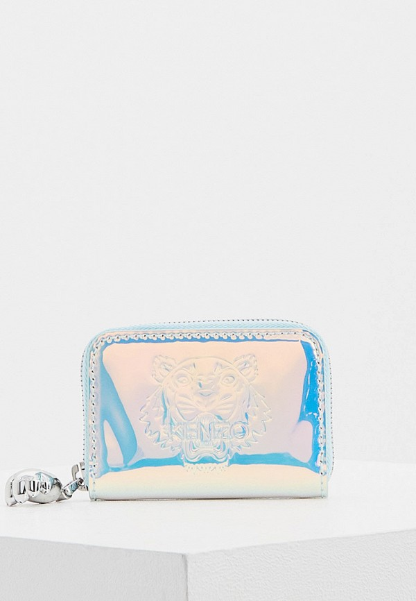 женский кошелёк kenzo, голубой
