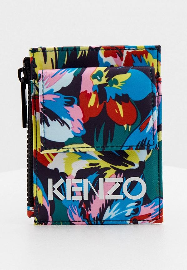 женский кошелёк kenzo, разноцветный