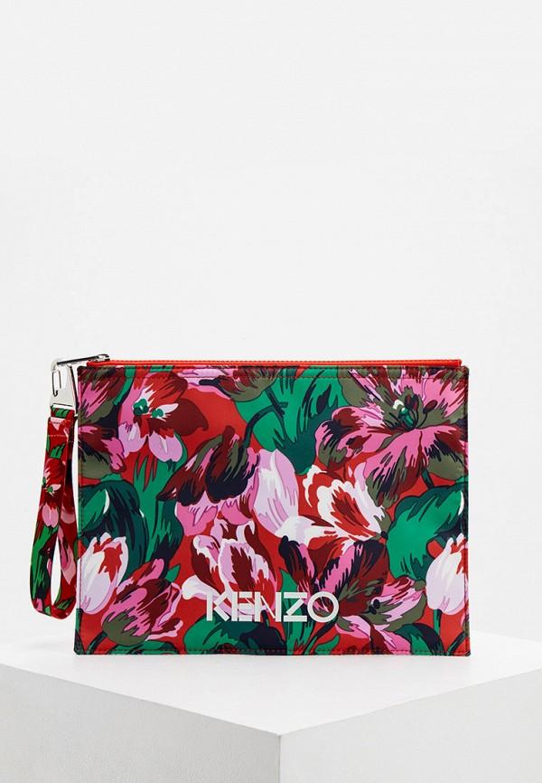 женский клатч kenzo, разноцветный