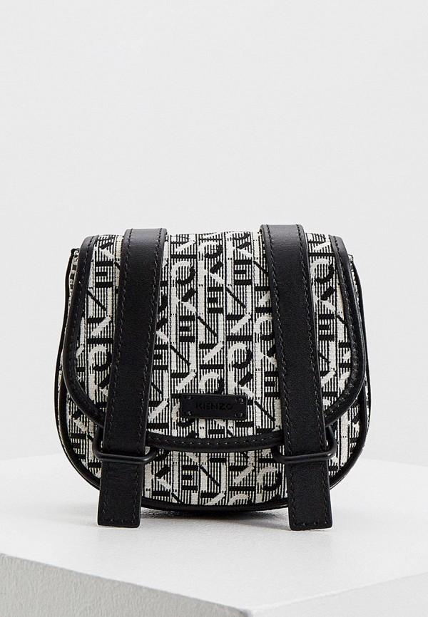 женская сумка kenzo, серая